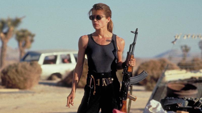 Sarah Connor, ready for war.