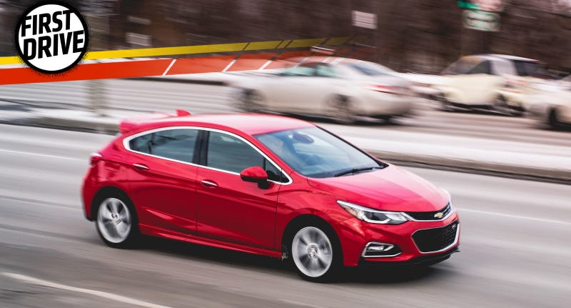the 2017 chevrolet cruze hatchback could be america's golf if it was