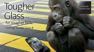 Illustration for article titled Next-Gen Gorilla Glass Wants to Save Your Phone From Fateful Drops