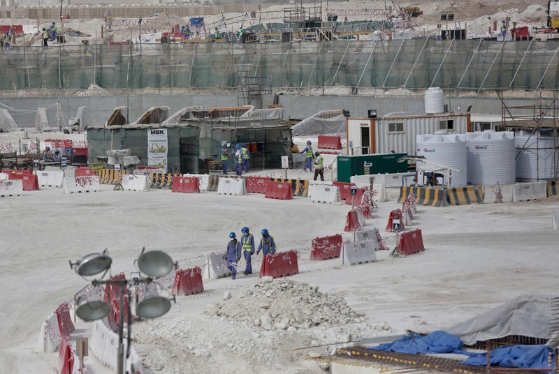 Illustration for article titled Qatar Is Still Using Forced Labor To Build Stadiums