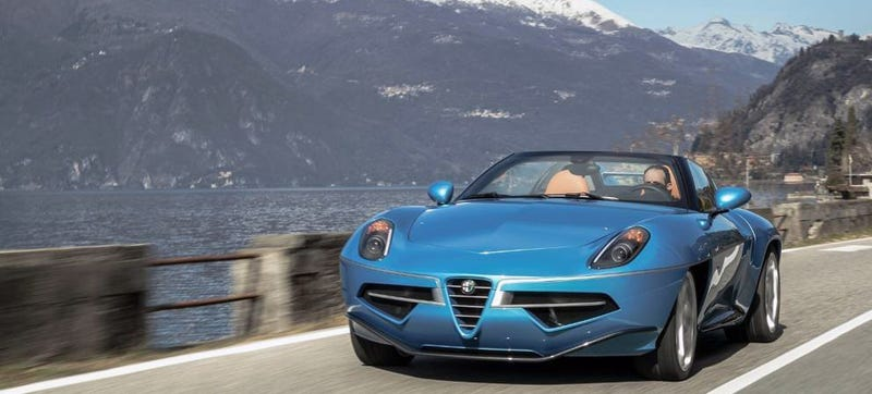 Illustration for article titled The Alfa Romeo Disco Volante Spider Is A Stunning Beauty With An 8C Underneath