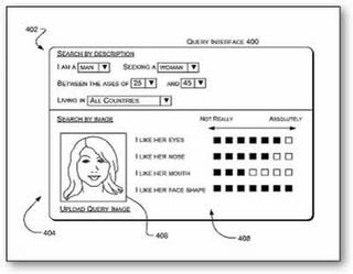 Illustration for article titled Microsoft's Patent Revolutionizes Dating By Matching People With Celebrity Faces