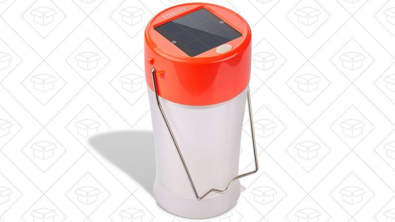 Etekcity Solar Camping Lantern, $12