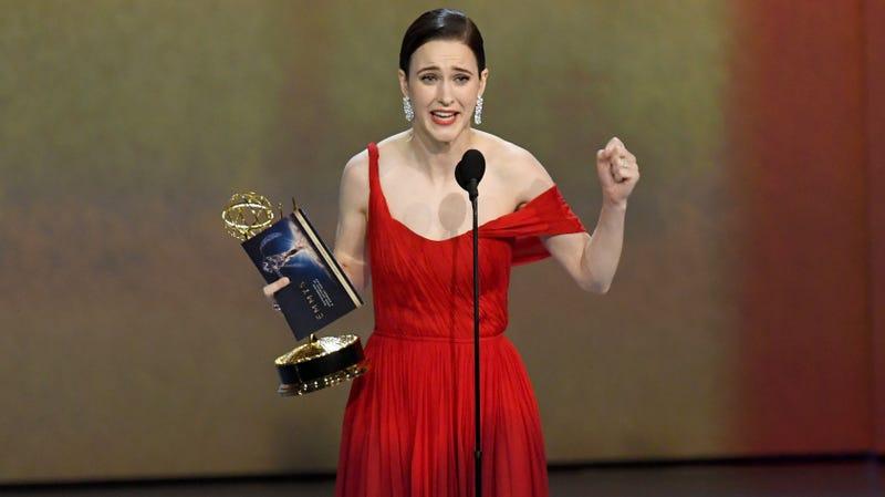 Rachel Brosnahan, Emmy winner