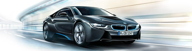 Illustration for article titled The BMW i8 - A Top Car of 2014
