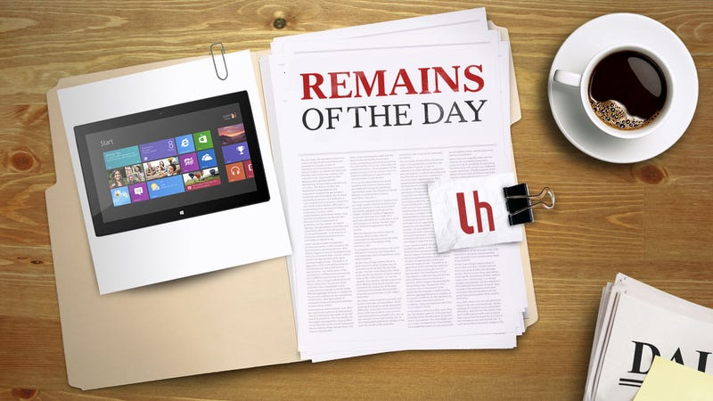 Illustration for article titled Remains of the Day: Find Out How Much Surface with Windows 8 Pro Will Cost You