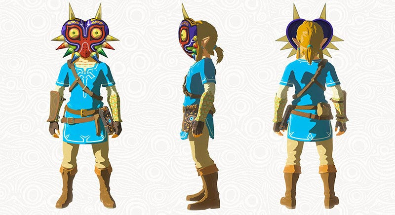 Illustration for article titled Zelda: Breath Of The Wild's First DLC Adds Some Very Cool Stuff