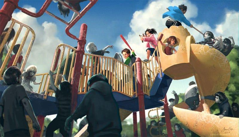 Illustration for article titled Left 4 Dead — Now For Kids!