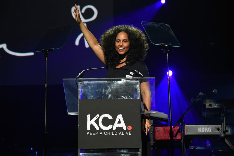 Keep a Child Alive co-founder and singer Alicia Keys speaks onstage during Keep a Child Alive's Black Ball 2016 at Hammerstein Ballroom on Oct. 19, 2016, in New York City. Kevin Mazur/Getty Images for Keep a Child Alive