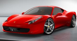 Illustration for article titled Ferrari 458 Italia: 562 HP Of F430-Replacing Italian Muscle