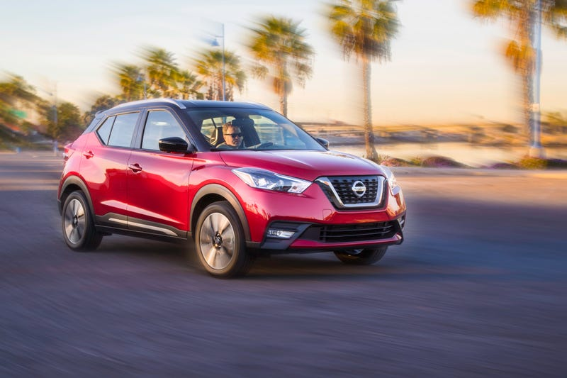 Illustration for article titled The 2018 Nissan Kicks The Juke Into The Grave As Boring Rules The Day