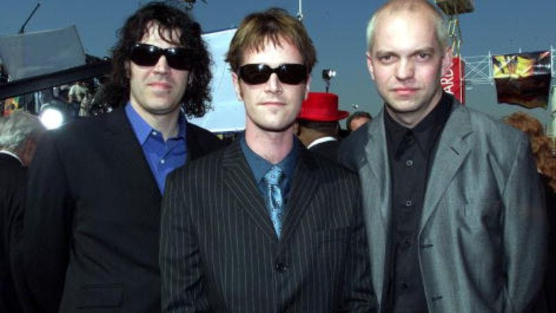 The man's favorite band, Semisonic (Photo: Frank Micelotta Archive/Getty Images)