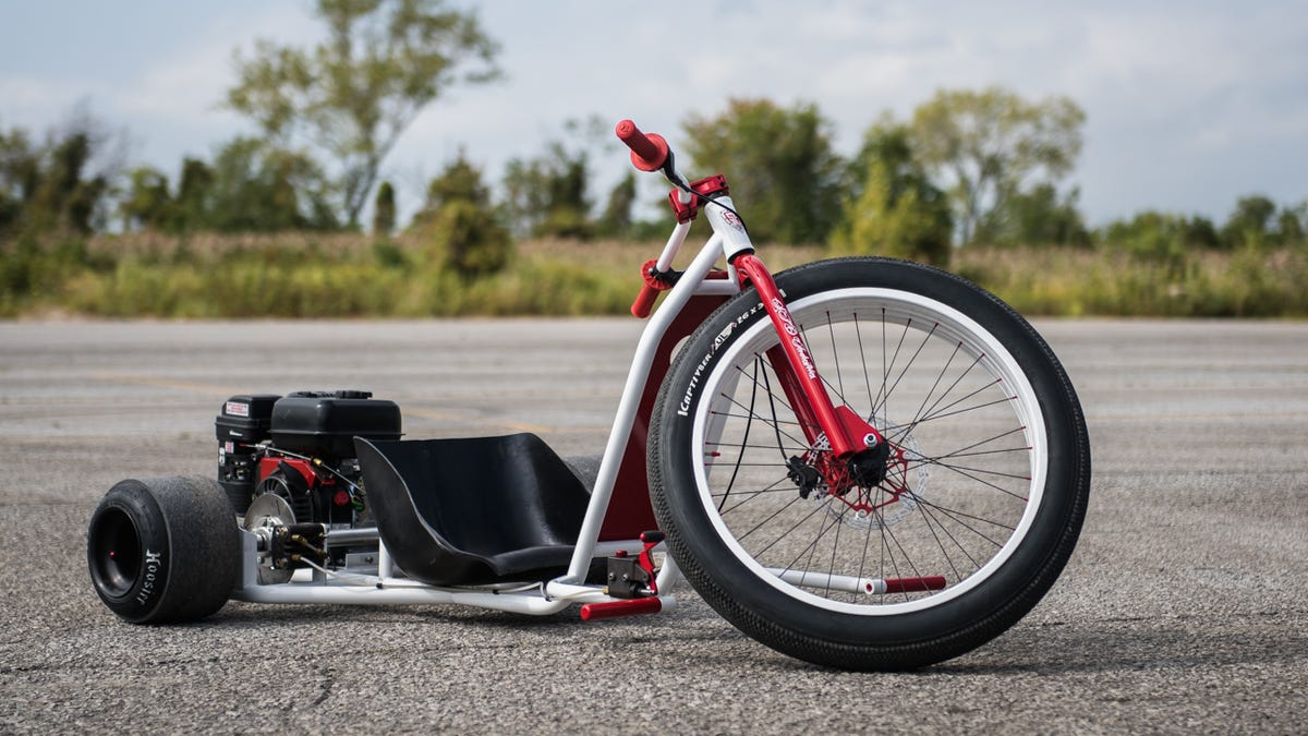 My Day on a Gas-Powered Drift Trike: Like Being a Kid Again ...