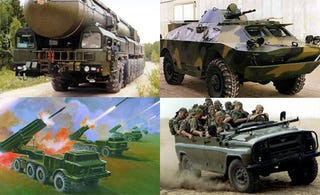 Illustration for article titled The Ten Fiercest Russian Military Vehicles Of All Time