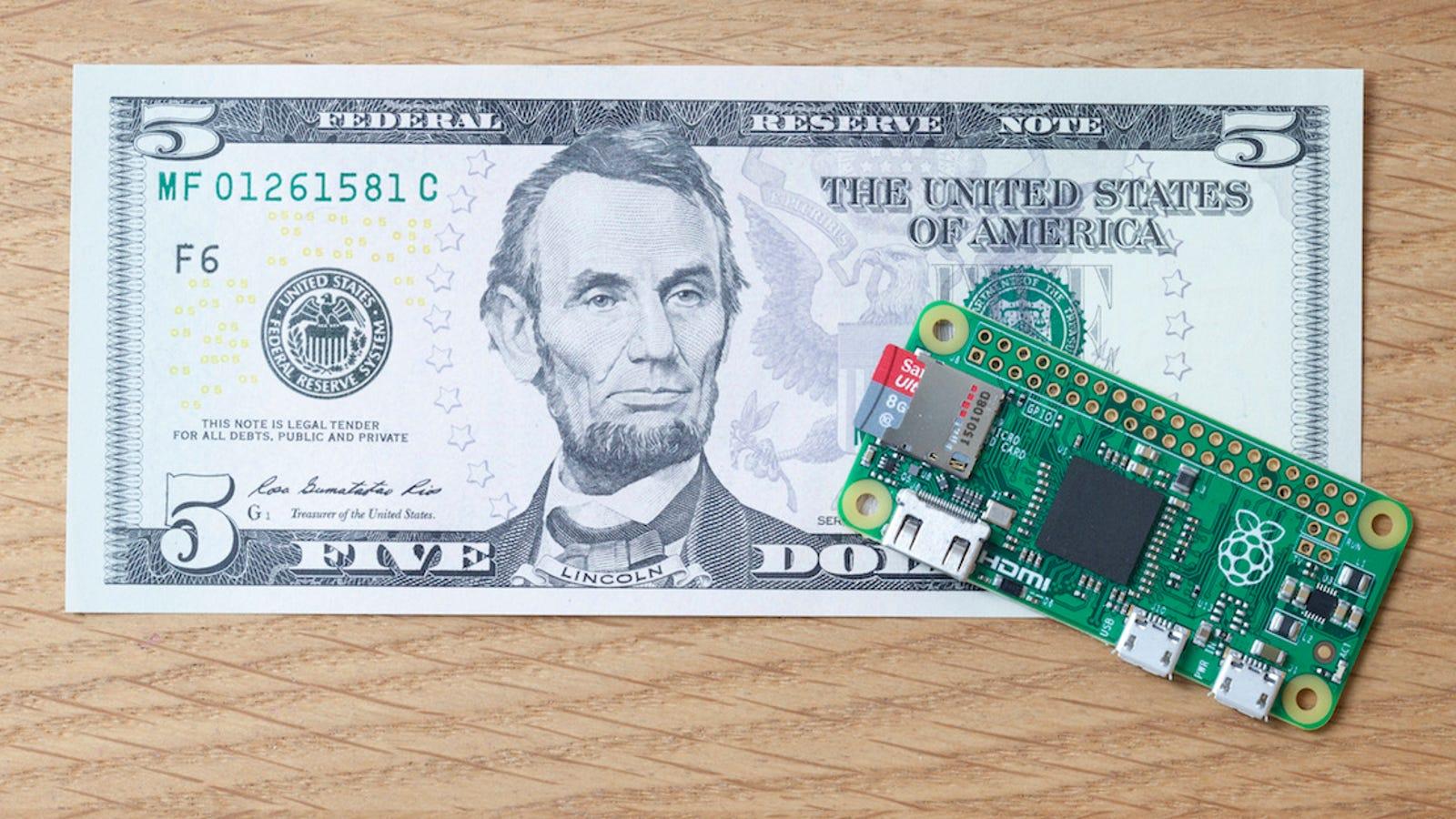 Pi Zero: el nuevo ordenador de Raspberry cuesta sólo $5 dólares