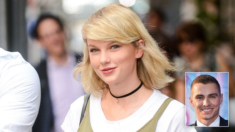 Illustration for article titled Good To Know: Taylor Swift Just Made It Painstakingly Clear That She Would Never Date Dave Franco, Nor Would She Ever Have Any Interest In Meeting Him, Nor Would She Feel Any Sadness If She Heard He Died