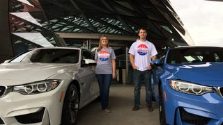 Married couple buy a couple of manual F80 M3s