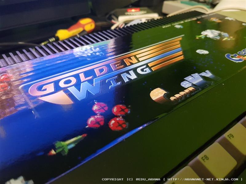Illustration for article titled Amiga 500 Golden Wing version
