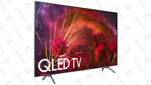 Save 400 or more on samsungs newest qled 4k tvs utter buzz samsungs quantum dot powered q8 tv isnt exactly easy on the bank account but it would be a stunning upgrade to your home theater and you can save 400 fandeluxe Image collections