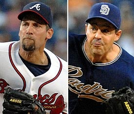 Illustration for article titled Smoltz Vs. Maddux: More Fun Than A Barrel of Cy Youngs