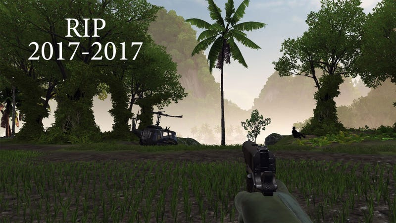 Illustration for article titled PC Shooter Removes Single Tree From Game, Just For One Guy