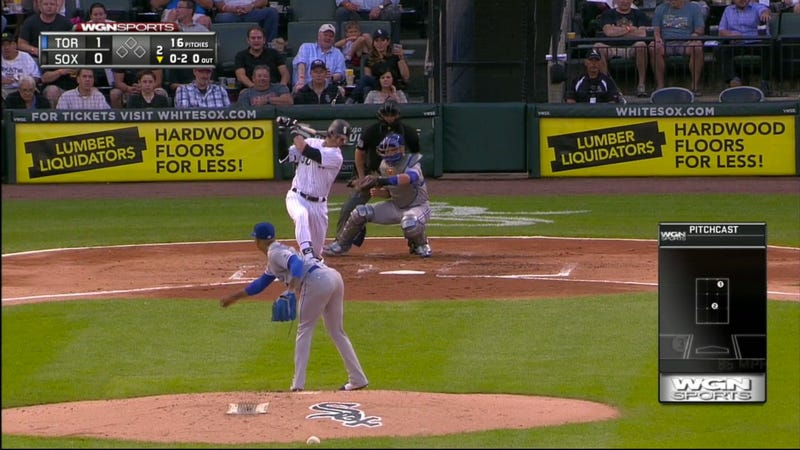 Screen capture via MLB