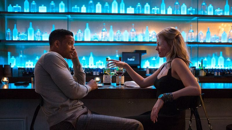 Illustration for article titled Chicago, see Will Smith and Margot Robbie in Focus early and for free