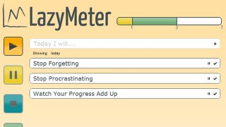 Illustration for article titled LazyMeter Helps You Focus on Today's Tasks, Tracks Your Productivity
