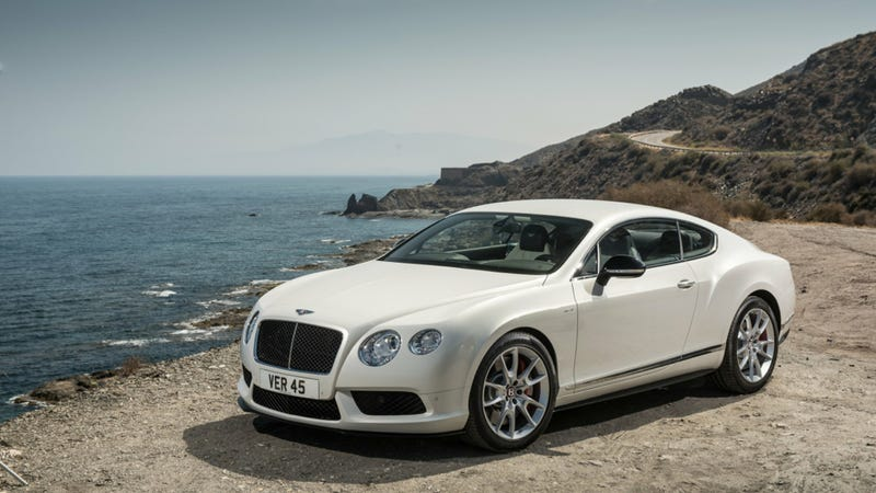 Illustration for article titled 2014 Bentley Continental GT V8 S: This Is It