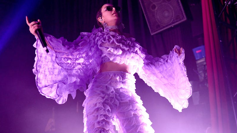 Charli XCX on the Pop 2 tour March 15 in Los Angeles.