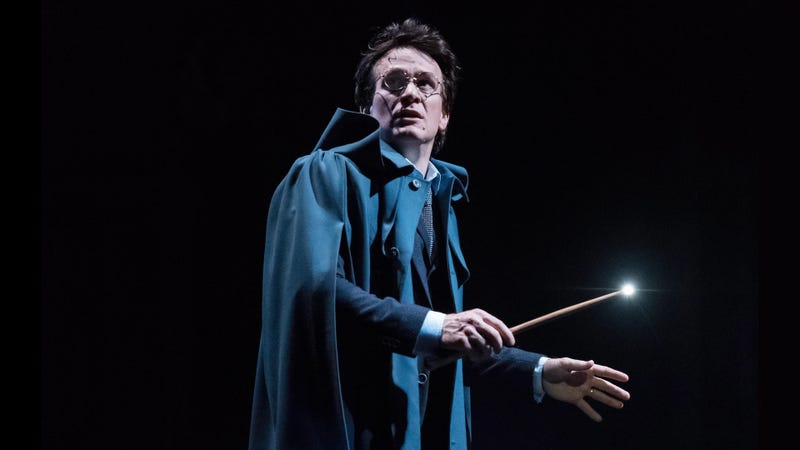 El actor Jamie Parker interpreta a un Harry Potter de 37 años en la obra de teatro 'Harry Potter y el legado maldito'