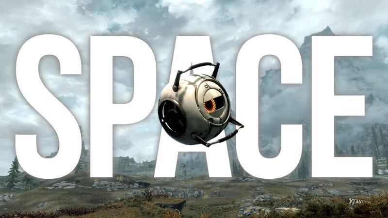 Illustration for article titled Valve & Bethesda Release Official Portal 2 Mod...For Skyrim