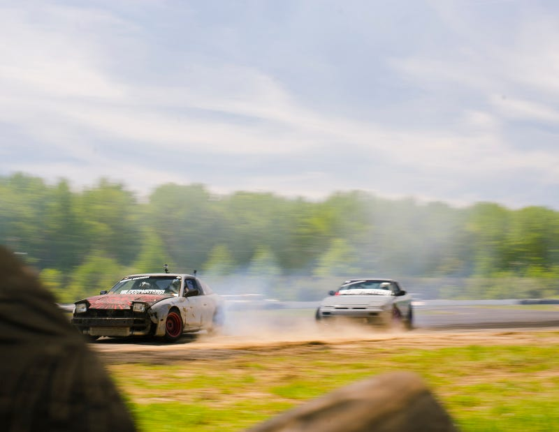 pictured: not a rallysprint but just some random drift car dirt drops at englishtown whatever who cares yay. Photo Credit: Raphael Orlove