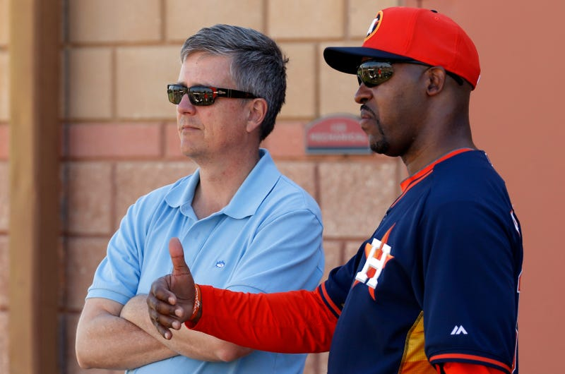 Illustration for article titled Reports: Astros' Manager And GM Definitely Not Getting Along