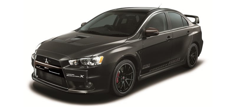 Illustration for article titled This 473 HP Monster Could Be The Final Mitsubishi Evo (UPDATE)