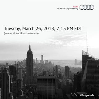 Illustration for article titled Audi has sent us a warning...