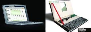 Illustration for article titled Palm Foleo vs. DIY Palm Pilot Notebook