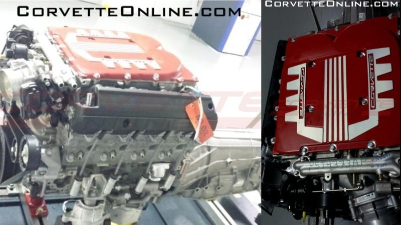 Illustration for article titled Could This Be The C7 Corvette ZR1's Supercharged Engine?