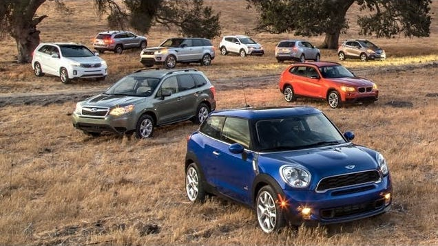 Motor trend picked their 2014 suv of the year for Motor trend crossover of the year