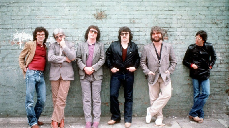 Toto poses in 1982 in L.A. (Photo: Michael Ochs Archives/Getty Images)