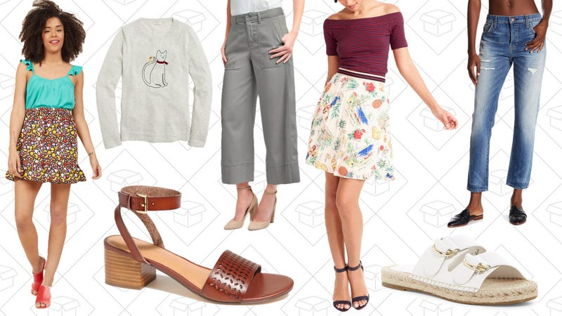 Illustration for article titled Today's Best Lifestyle Deals: ModCloth, J.Crew Factory, GAP, and More