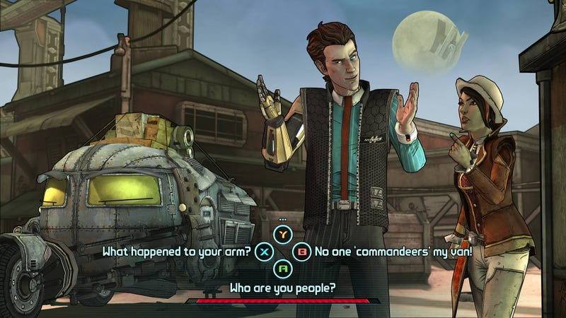 Illustration for article titled Telltale's Borderlands Game Sure Is Looking Pretty