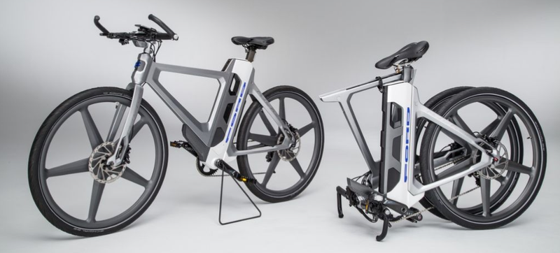 Illustration for article titled Ford's New Full-Size Electric Bike Tells You Where to Avoid Potholes