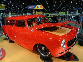 Illustration for article titled Ferrambo Wins 2008 Ridler Award At Detroit Autorama
