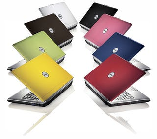 Illustration for article titled Dell Rolls Out Inspirons and a Slim-Trim XPS Notebook in Splashy Colors