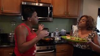 Auntie Fee and Sherri ShepherdYouTube Screenshot