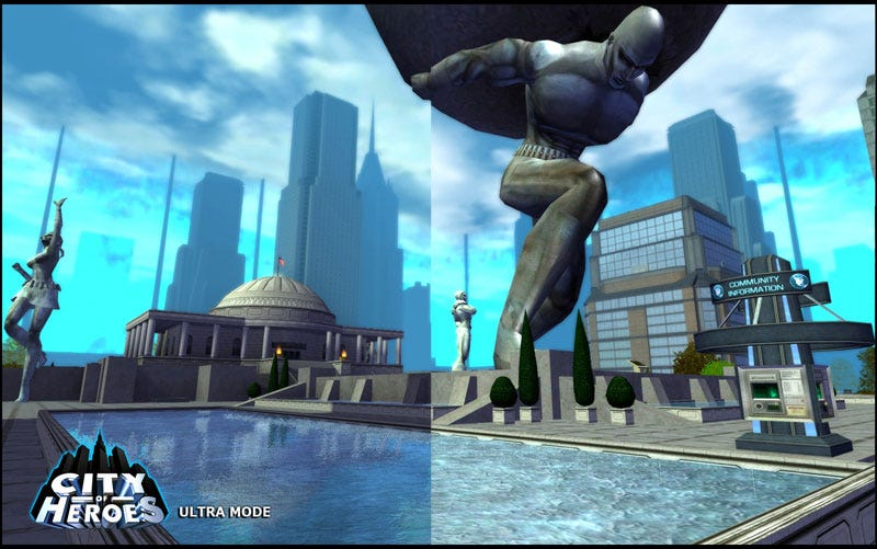 Illustration for article titled City Of Heroes Gets A Visual Makeover