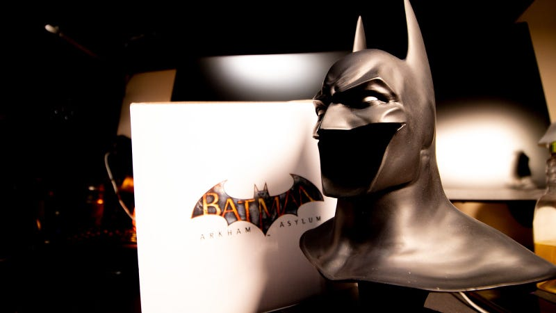 Illustration for article titled I Wish I Could Wear This Wee Arkham Asylum Batman Cowl