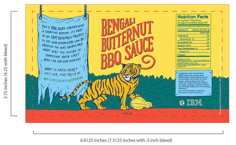 Illustration for article titled IBM's Watson makes a delicious sounding BBQ sauce