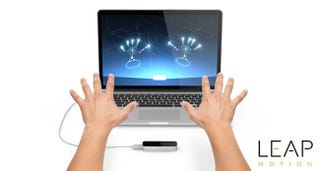 Illustration for article titled Get The Leap Motion Controller + $20 Airspace Credit (Leap Motion's App Store)